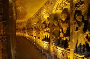 ellora and ajanta temples