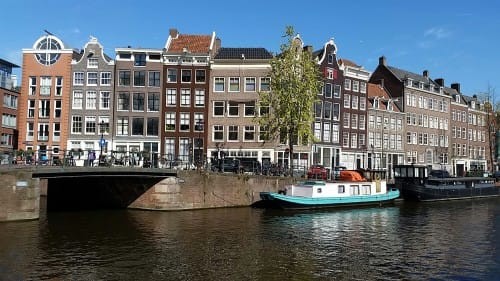 blog: arrival in amsterdam