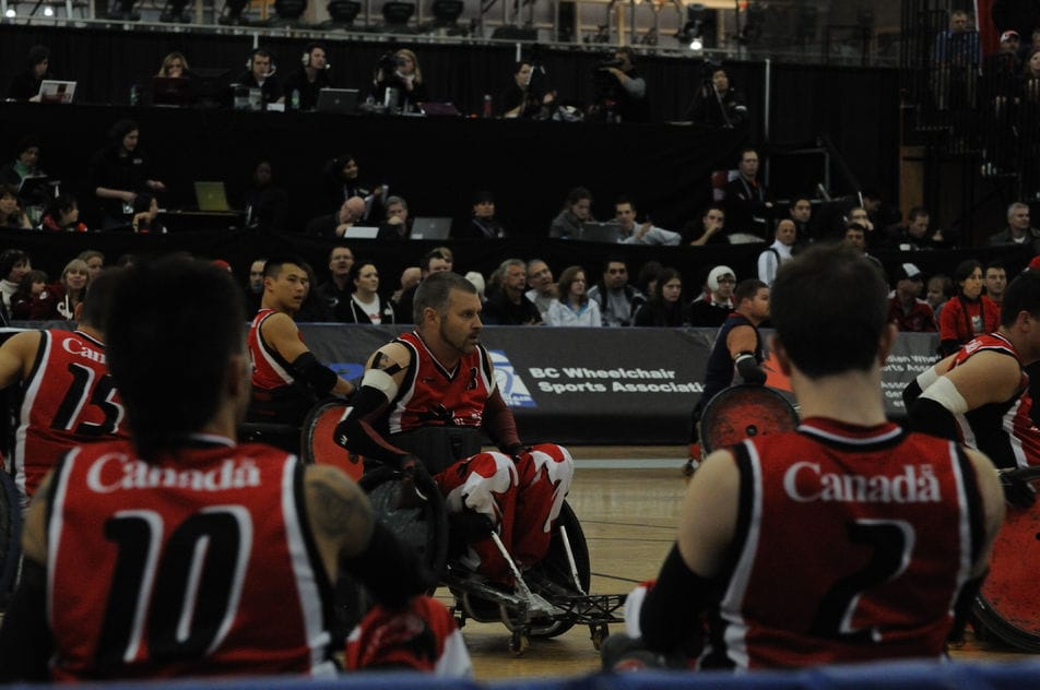 Murderball / Wheelchair Rugby.